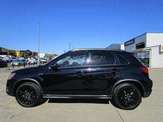 2018 Mitsubishi ASX XC MY19 Black Edition 2WD Black 1 Speed Constant Variable Wagon