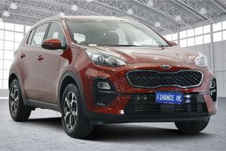 2020 Kia Sportage QL MY21 S 2WD Red 6 Speed Sports Automatic Wagon.