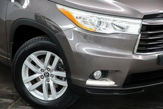 2016 Toyota Kluger GSU55R GX AWD Grey 6 Speed Sports Automatic Wagon.