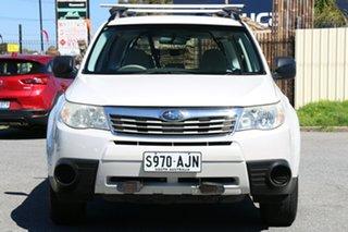 2008 Subaru Forester 79V MY08 X AWD White 4 Speed Automatic Wagon