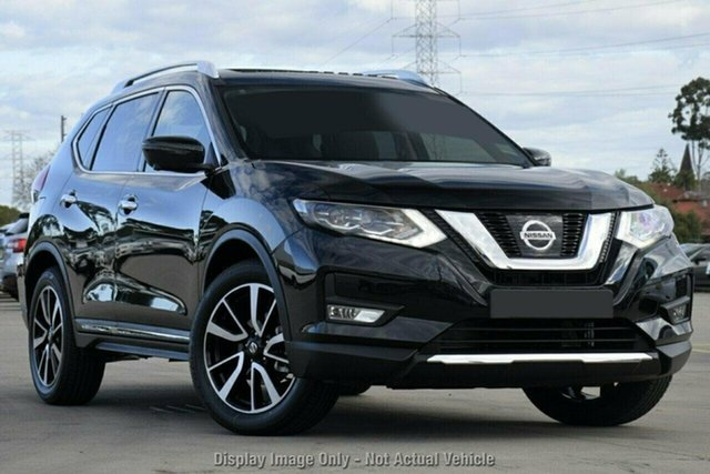 Demo Nissan X-Trail T32 MY21 Ti X-tronic 4WD Castle Hill, 2021 Nissan X-Trail T32 MY21 Ti X-tronic 4WD Diamond Black 7 Speed Constant Variable Wagon
