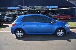 2012 Toyota Corolla ZRE182R Ascent Blue 6 Speed Manual Hatchback.