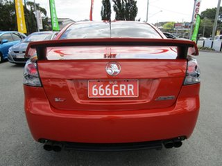 2007 Holden Commodore VE SS V Orange 6 Speed Sports Automatic Sedan