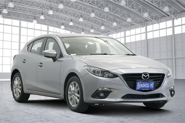 Used Mazda 3 BM5478 Touring SKYACTIV-Drive Victoria Park, 2015 Mazda 3 BM5478 Touring SKYACTIV-Drive Aluminium 6 Speed Sports Automatic Hatchback