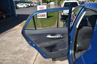 2012 Toyota Corolla ZRE182R Ascent Blue 6 Speed Manual Hatchback