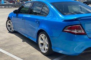 2011 Ford Falcon FG Upgrade XR6 Blue 6 Speed Auto Seq Sportshift Sedan