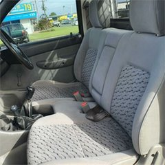2006 Mazda Bravo B2500 DX White 5 Speed Manual Cab Chassis