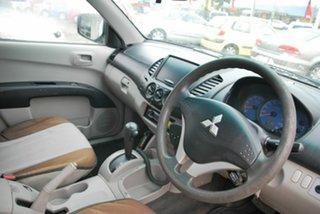 2008 Mitsubishi Triton ML MY08 GLX White 4 Speed Automatic Cab Chassis