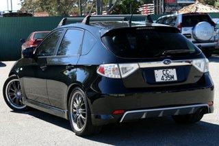 2007 Subaru Impreza S MY07 WRX AWD Black 5 Speed Manual Hatchback.