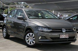 2019 Volkswagen Polo AW MY20 70TSI DSG Trendline Grey 7 Speed Sports Automatic Dual Clutch Hatchback.