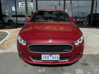 2014 Ford Falcon FG X XR6 Red 6 Speed Auto Seq Sportshift Sedan.