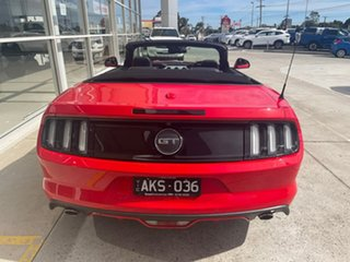 2016 Ford Mustang FM GT SelectShift Red 6 Speed Sports Automatic Convertible