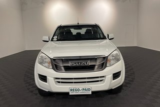 2016 Isuzu D-MAX MY17 SX Crew Cab White 6 speed Automatic Cab Chassis.