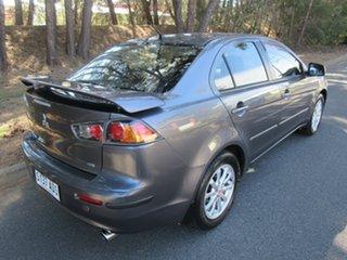 2009 Mitsubishi Lancer CJ MY09 ES Silver 5 Speed Manual Sedan.