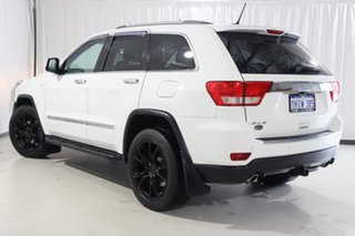 2012 Jeep Grand Cherokee WK MY2013 Overland White 5 Speed Sports Automatic Wagon.