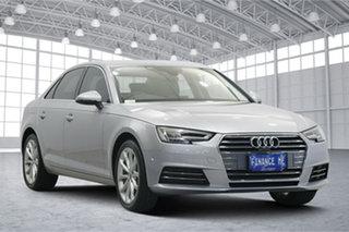 2016 Audi A4 B9 8W MY17 Sport S Tronic Silver 7 Speed Sports Automatic Dual Clutch Sedan.