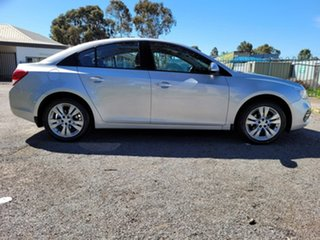2015 Holden Cruze JH Series II MY15 Equipe Silver 6 Speed Sports Automatic Sedan.