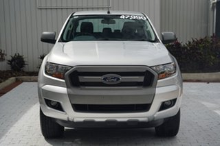 2018 Ford Ranger PX MkII 2018.00MY XLS Double Cab Silver 6 Speed Sports Automatic Utility.