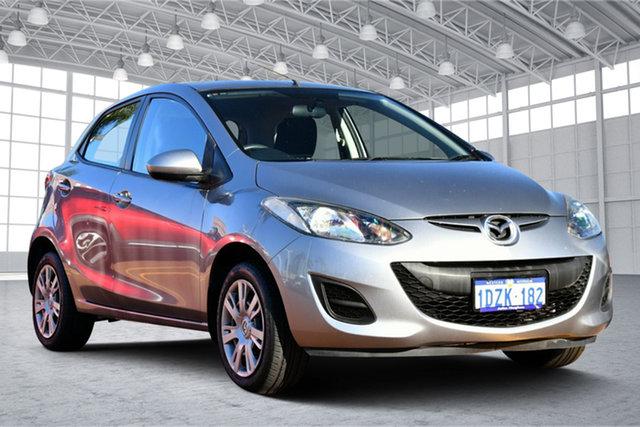 Used Mazda 2 DE10Y2 MY12 Neo Victoria Park, 2012 Mazda 2 DE10Y2 MY12 Neo Grey 4 Speed Automatic Hatchback
