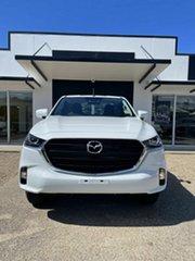 2021 Mazda BT-50 B XT White 6 Speed Automatic Single Cab.
