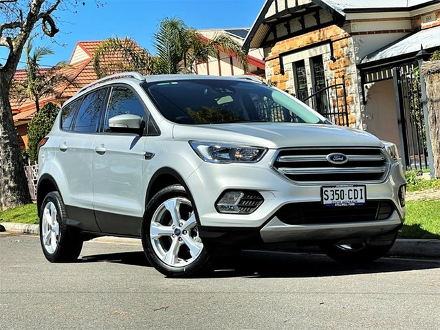 Used Ford Escape ZG 2019.25MY Trend Hyde Park, 2019 Ford Escape ZG 2019.25MY Trend Silver 6 Speed Sports Automatic SUV
