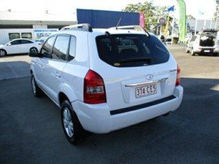2009 Hyundai Tucson CITY White 4 Speed Automatic Wagon