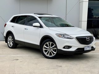 2013 Mazda CX-9 TB10A5 Grand Touring Activematic AWD White 6 Speed Sports Automatic Wagon.