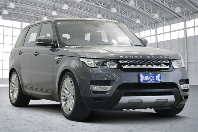 Used Land Rover Range Rover Sport L494 16MY HSE Victoria Park, 2015 Land Rover Range Rover Sport L494 16MY HSE Grey 8 Speed Sports Automatic Wagon