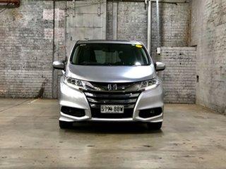 2014 Honda Odyssey RC MY14 VTi-L Silver 7 Speed Constant Variable Wagon.
