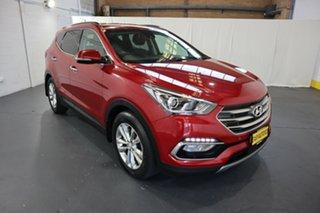 2017 Hyundai Santa Fe DM3 MY17 Elite Red 6 Speed Sports Automatic Wagon.