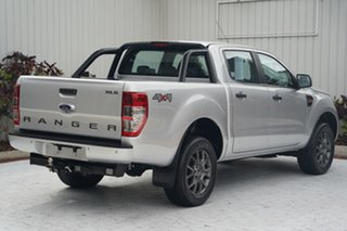 2018 Ford Ranger PX MkII 2018.00MY XLS Double Cab Silver 6 Speed Sports Automatic Utility
