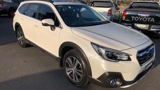 2018 Subaru Outback B6A MY18 3.6R CVT AWD Crystal White 6 Speed Constant Variable Wagon.