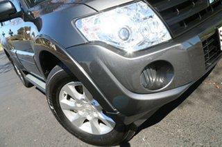 2013 Mitsubishi Pajero NW MY13 GLX Grey 5 Speed Sports Automatic Wagon.