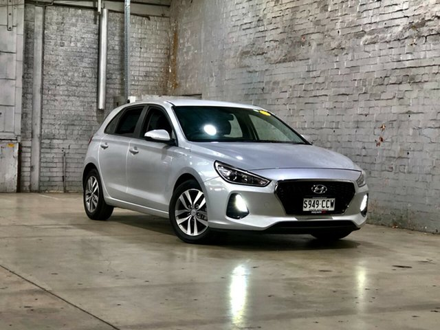 Used Hyundai i30 PD MY18 Active Mile End South, 2018 Hyundai i30 PD MY18 Active Silver 6 Speed Sports Automatic Hatchback