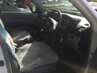 2014 Mitsubishi Triton MN MY14 Update GL White 5 Speed Manual Cab Chassis