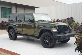 2021 Jeep Wrangler JL MY21 Unlimited Willys Velvet Red 8 Speed Automatic Hardtop.
