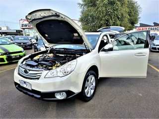 2012 Subaru Outback B5A MY12 2.5i Lineartronic AWD Premium White 6 Speed Constant Variable Wagon