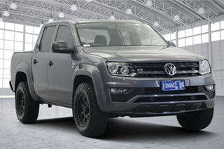2019 Volkswagen Amarok 2H MY20 TDI550 4MOTION Perm Core Grey 8 Speed Automatic Utility.