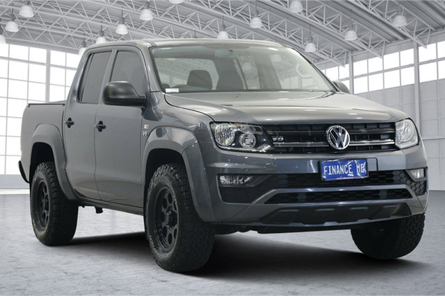 Used Volkswagen Amarok 2H MY20 TDI550 4MOTION Perm Core Victoria Park, 2019 Volkswagen Amarok 2H MY20 TDI550 4MOTION Perm Core Grey 8 Speed Automatic Utility