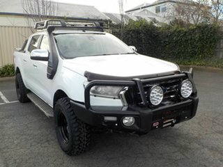2017 Ford Ranger PX MkII MY18 XLT 3.2 (4x4) White 6 Speed Automatic Double Cab Pick Up.