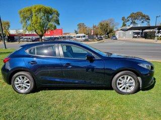 2015 Mazda 3 BM5478 Touring SKYACTIV-Drive Blue 6 Speed Sports Automatic Hatchback.