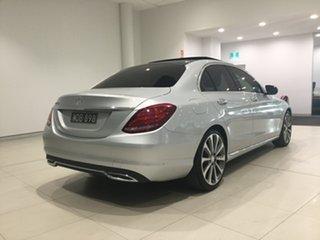 2015 Mercedes-Benz C-Class W205 806MY C250 d 7G-Tronic + Iridium Silver 7 Speed Sports Automatic.