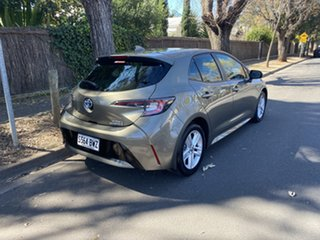 2018 Toyota Corolla ZWE211R Ascent Sport E-CVT Hybrid Brown 10 Speed Constant Variable Hatchback