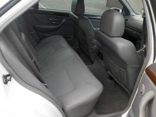 1998 Ford Fairmont EL Ghia White 4 Speed Automatic Sedan