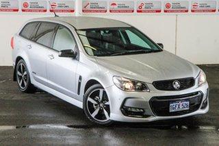 2016 Holden Commodore Vfii MY16 SV6 Black Edition 6 Speed Automatic Sportswagon.