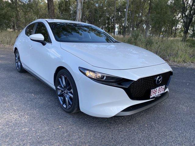Pre-Owned Mazda 3 BP G20 Evolve Chinchilla, 2019 Mazda 3 BP G20 Evolve 6 Speed Automatic Hatchback