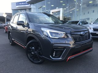 2021 Subaru Forester S5 MY21 2.5i Sport CVT AWD Magnetite Grey 7 Speed Constant Variable Wagon.
