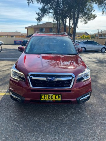 Used Subaru Forester S4 MY15 2.0D-S CVT AWD Liverpool, 2015 Subaru Forester S4 MY15 2.0D-S CVT AWD Red 7 Speed Constant Variable Wagon