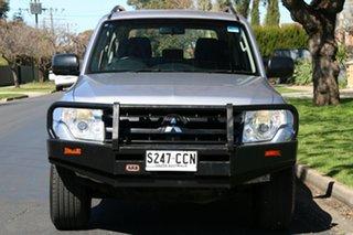 2011 Mitsubishi Pajero NT MY11 GLX Silver 5 Speed Sports Automatic Wagon