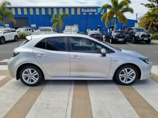 2018 Toyota Corolla ZWE211R SX Hybrid Silver Pearl Continuous Variable Hatchback.